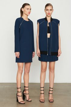 Sporty Streetwear at DKNY Pre-Fall 2014 by LaToya Cole   Lucky Community
