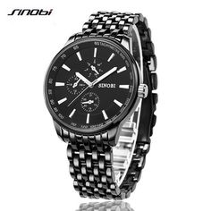 9.99$  Buy here - http://alib9n.shopchina.info/go.php?t=32804649304 - SINOBI Hot Sale in Russia Men's Quartz Watch Waterproof Top Brand Luxury for Man Sports Wristwatches Clock Relogio Masculino  #magazineonlinewebsite