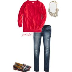 Untitled #289 by pchick60 on Polyvore featuring J.Crew and American Eagle Outfitters