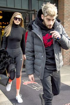 What happened to this guy? The mannequin has not been seen with her beau much lately; here they are pictured in NYC in January
