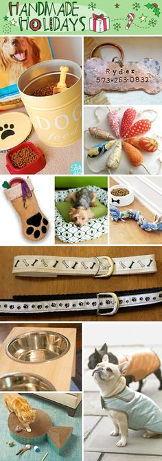 DIY Handmade Gifts For Pets - Great for Christmas gifts or Birthday presents!