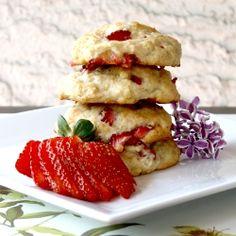 Strawberry Banana Shortbread Cookies! Great Cookies for a Tea  jocooks.com