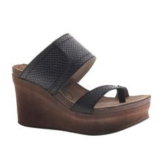Brookfield by OTBT in black.  This wedge is a spring summer must have for any and all occasions!