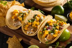 The best, and easiest, fish tacos with mango salsa you'll ever have!