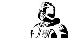 Judge Dredd stencil template Etched Glass, Glass Etching, Stencil Templates, Stencils, Judge Dredd, Art Studies, Pyrography, Ink Art, Paint Ideas