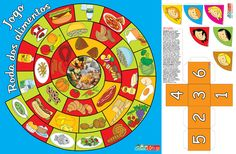 AS NOSSAS PARTILHAS: Jogo - Roda dos alimentos Games For Kids, Games To Play, Daily Routine Activities, Meals On Wheels, Kindergarten Lessons, Nutrition, Cool Baby Stuff, Craft Activities, Baby Food Recipes