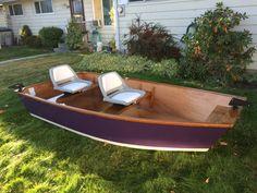 Custom handmade fly fishing boats