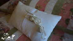 How to make a ring cushion / ring pillow for a wedding. Patchwork