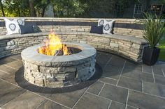 "Outstanding ""outdoor fire pit designs"" detail is readily available on our internet site. Read more and you wont be sorry you did. Paver Fire Pit, Diy Fire Pit, Fire Pit Backyard, Backyard Patio, Pergola Patio, Fire Pit With Pavers, Patio With Firepit, Patio Fire Pits, Backyard Landscaping"