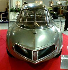 Just a Car Guy: 1948 Panhard Levassor Dynavia the rear end