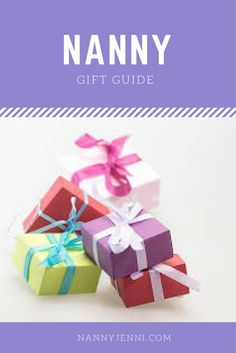Are you a parent who has a nanny for your children? Do you struggle with birthday and Christmas gifts? Take a look at this nanny gift guide for some advice :)