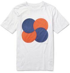 Saturdays Surf NYC Printed Cotton-Jersey T-Shirt                                                                | MR PORTER