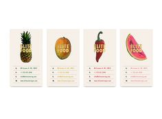 Vijit Keomisy develop a nice identity and stationary set for a ffictionalfood brand.