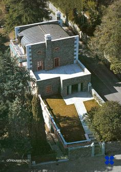 """Aldo Rossi, """"Villa for Alessandra and Stefano Alessi"""", Suna di Verbania, Italy, 1989-94"""