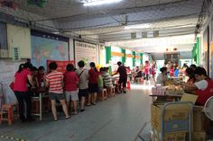 Taoyuan Chung Yi Lions Club (Taiwan) organized adult health examinations and cancer screenings for residents
