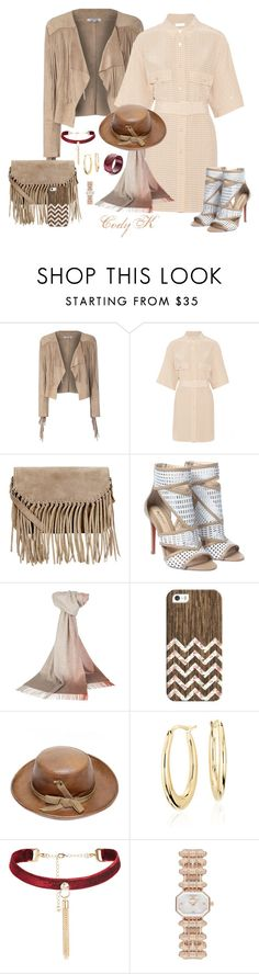 """""""Beiges & Neutrals"""" by cody-k ❤ liked on Polyvore featuring Glamorous, Matteo, Accessorize, Johnstons of Elgin, Casetify, Yves Saint Laurent, Blue Nile and Emporio Armani"""