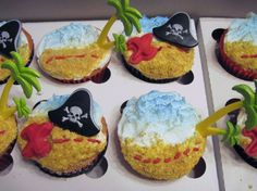 Awesome Pirate Cupcakes