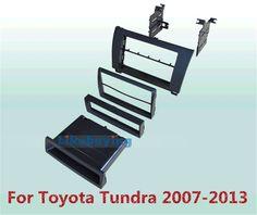 83.00$  Buy now - http://alimx4.worldwells.pw/go.php?t=32291613424 - 2 Din Car Frame Dash Kit / Car Fascias / Mount Bracket Panel For Toyota Tundra  2007 2008 2009 2010 2011 2012 2013 83.00$
