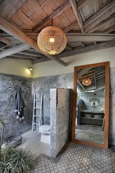 Stunning luxury interior design ideas from modern boutique hotels. Lobby, bedroom, stairways and entryways, a room by room guide to find inspiration with the best interior architecture from world renowned hotels. Luxury Decor, Luxury Interior Design, Bathroom Interior Design, Interior Architecture, Interior Mirrors, Classic Interior, Hotel Lobby Design, Hotel Bedroom Design, Bali House