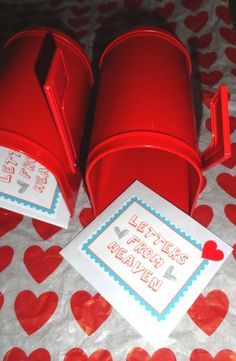 SINGING TIME IDEA: Valentines from Heaven- for primary singing time.