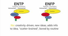 MBTI, NE similarities in ENTP and ENFP