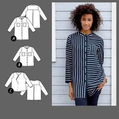 Skjorte og bluse