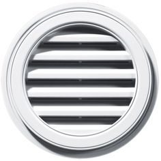 Builders Edge 120031818001 18' Round Vent 001, White *** You can get additional details at the image link.