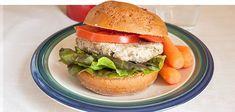 Jamie Eason's LiveFit Recipes: Italian Turkey Burgers