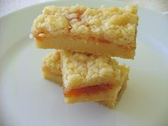Apricot Jam Shortbread Bars (from Baking with Julia)