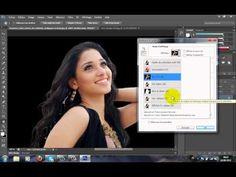 Tuto comment changer l'arriere plan sur une image avec PHOTOSHOP CS6 - YouTube