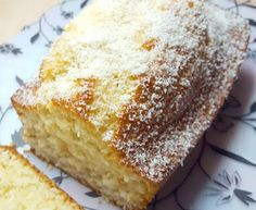 Bizcocho de coco Churros, Sweet And Salty, Sin Gluten, Cakes And More, Vanilla Cake, Tapas, Banana Bread, Food And Drink, Eat