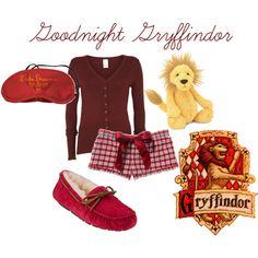 """Goodnight Gryffindor"" by sad-samantha on Polyvore"