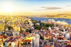 De Bosporus rivier in Istanbul