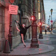 Ballerina Project in Paris: #Ballerina - @katieboren1 on #RuedeRivoli #Paris Outfit by @wolfordfashion #Wolford #WolfordBodywear #ballerinaproject_ #ballerinaproject #ballet #dance by ballerinaproject_