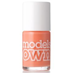 Models Own Nail Polish-Fuzzy Peach. 365 php Nail Care, Peach, Polish Nails, Models, Beauty Products, Tropical, Polyvore, Templates, Cosmetics