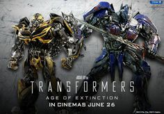 Bumblebee and Optimus for Transformers 4: Age of Extinction.... well that's just /prime/.