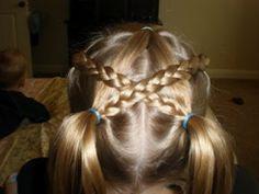 Girl Hairdos  Ideas: pig tails