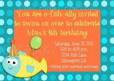 O-fish-ally obsessed with birthday parties.  M4