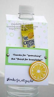 "Thank your teacher for ""quenching the thirst of knowledge"" (and more ideas) during Teacher Appreciation Week!"