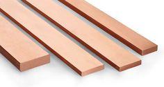 CHEAPEST - Copper Flat Bar various sizes & Lengths upto 1000mm long  | eBay