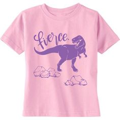 Fierce T-Rex Baby / Kids T-Shirt