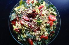 Creamy Kale and Cabbage Salad recipe on Food52