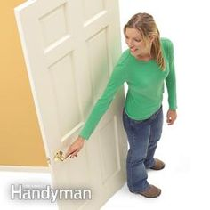 The easy way to identify a right- and left-hand door.