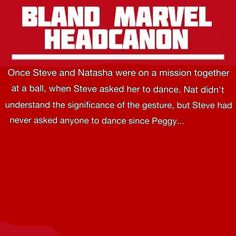 <Headcanons> He nearly breaks down in tears while they're dancing, because she's the wrong red-head. She never says a word about it, and neither does he.