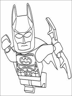 Lego Batman Coloring Pages 30