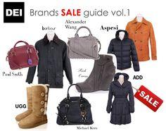 Sale guide!