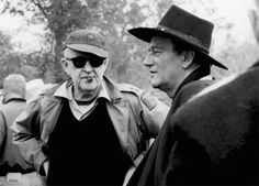 William Holden, John Wayne and the director John Ford on the set of The Horse Soldiers John Wayne, Jack Ford, The Searchers, Actor Studio, Actor John, Orson Welles, Hooray For Hollywood, Great Western, Cinema Posters