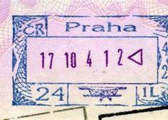prague passport stamp - Bing Images