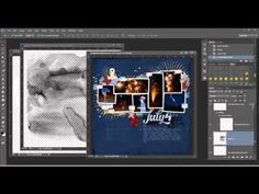 How to Distress Word Art Using Masks in Photoshop and PSE [Video]