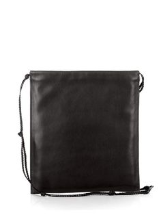 THE ROW Medicine Pouch Leather Cross-Body Bag.  therow  bags  shoulder bags   pouch  accessories  suede   85ec74d5dc6